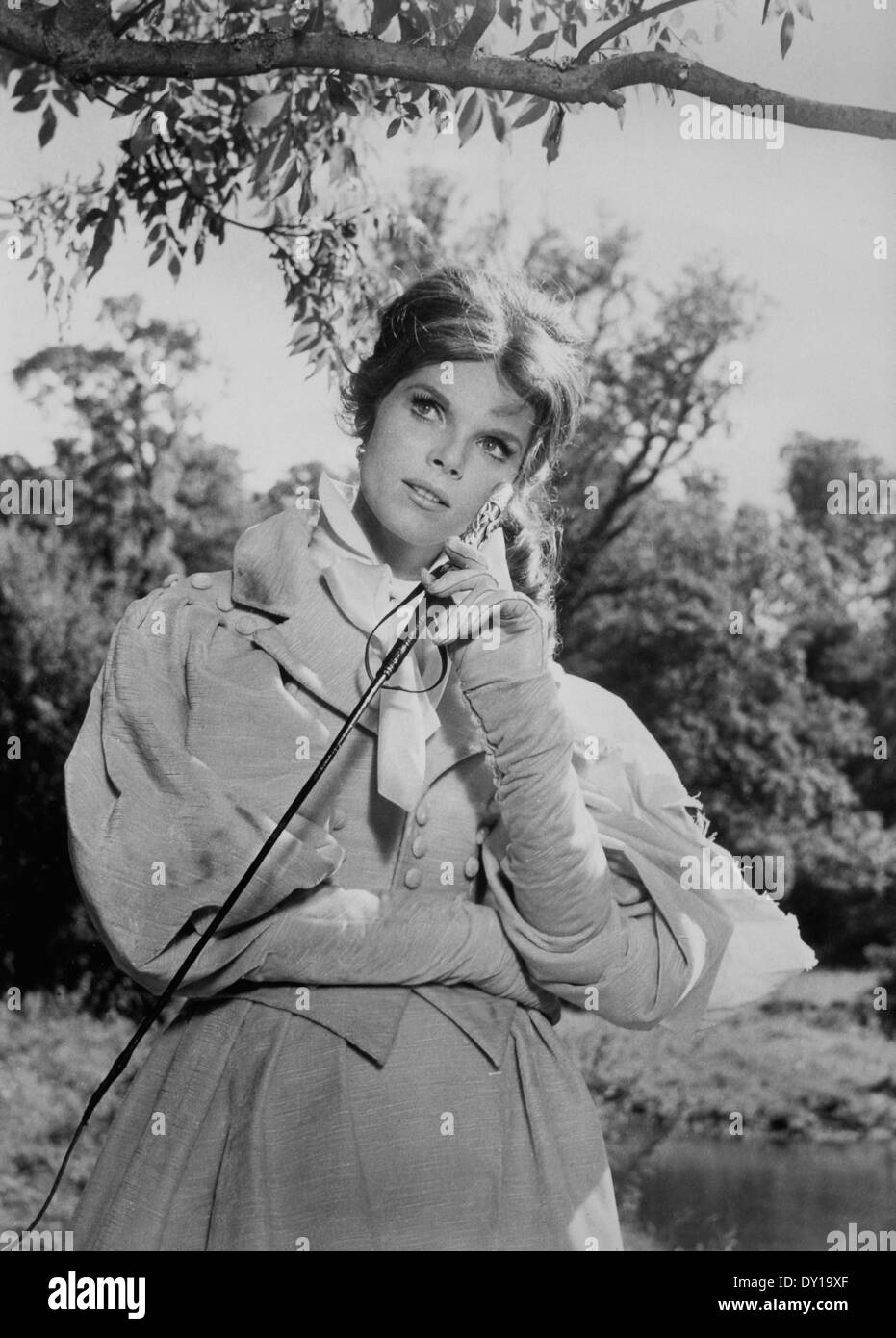 Samantha Eggar, on-set of the Film, 'Doctor Dolittle', 1967 - Stock Image