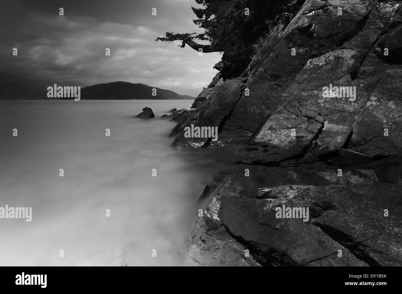 Creepy Landscape Stock Photo Alamy