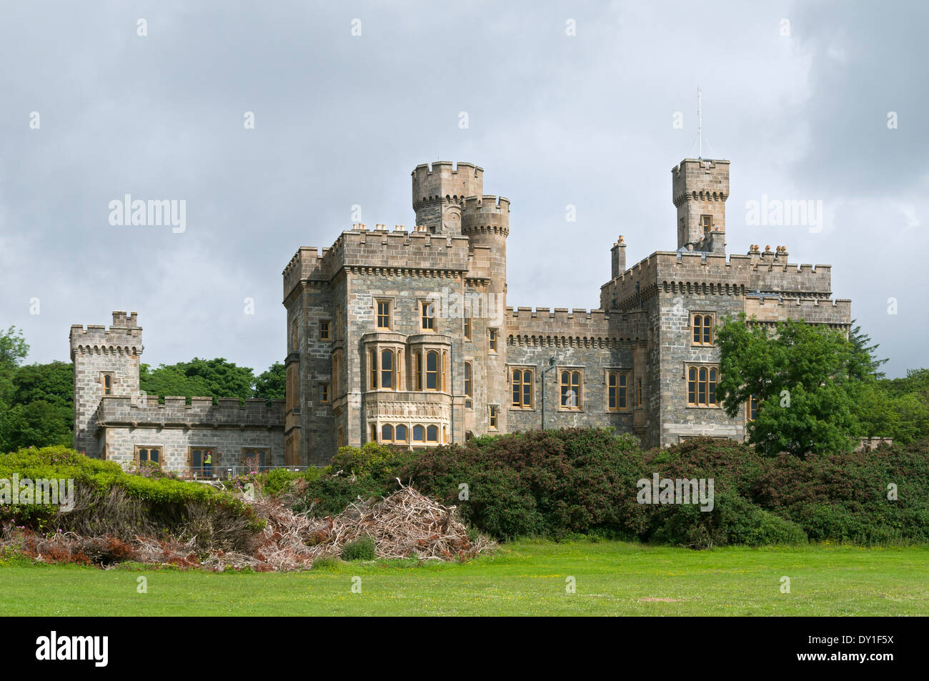 Lews Castle, Stornoway, Isle of Lewis, Western Isles, Scotland, UK - Stock Image