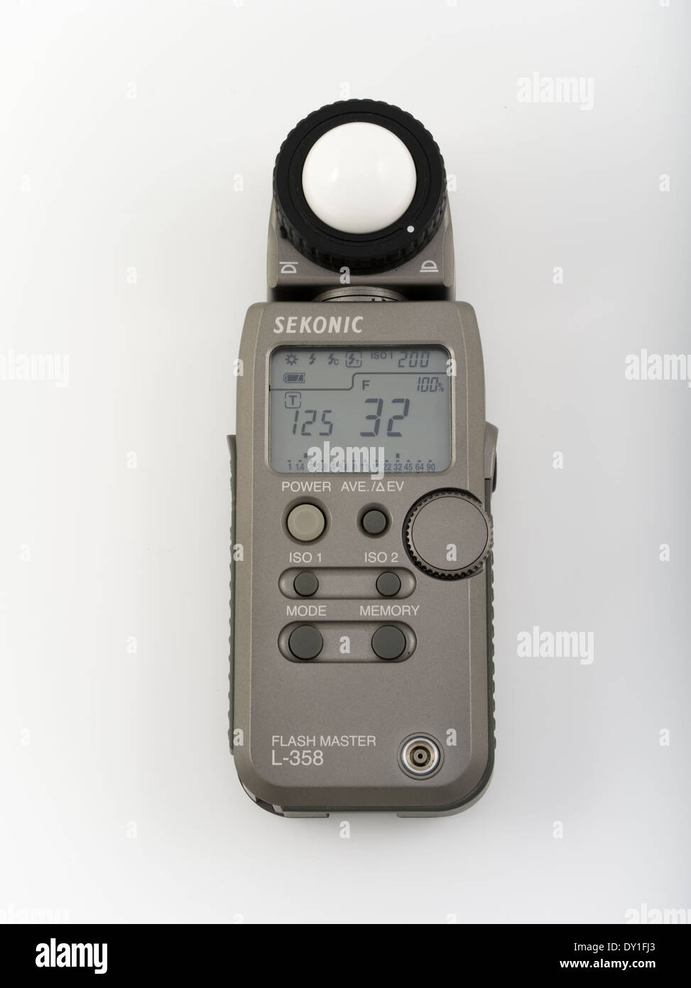 Sekonic Flashmaster L 358 Lightmeter Light Meter For Photography  Cinematography   Stock Image