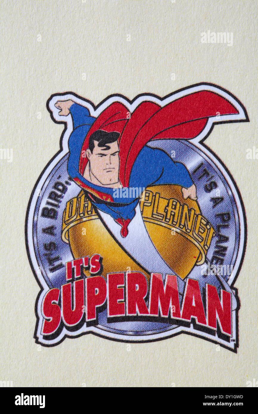 4b2024b5 Superman Logo Stock Photos & Superman Logo Stock Images - Alamy