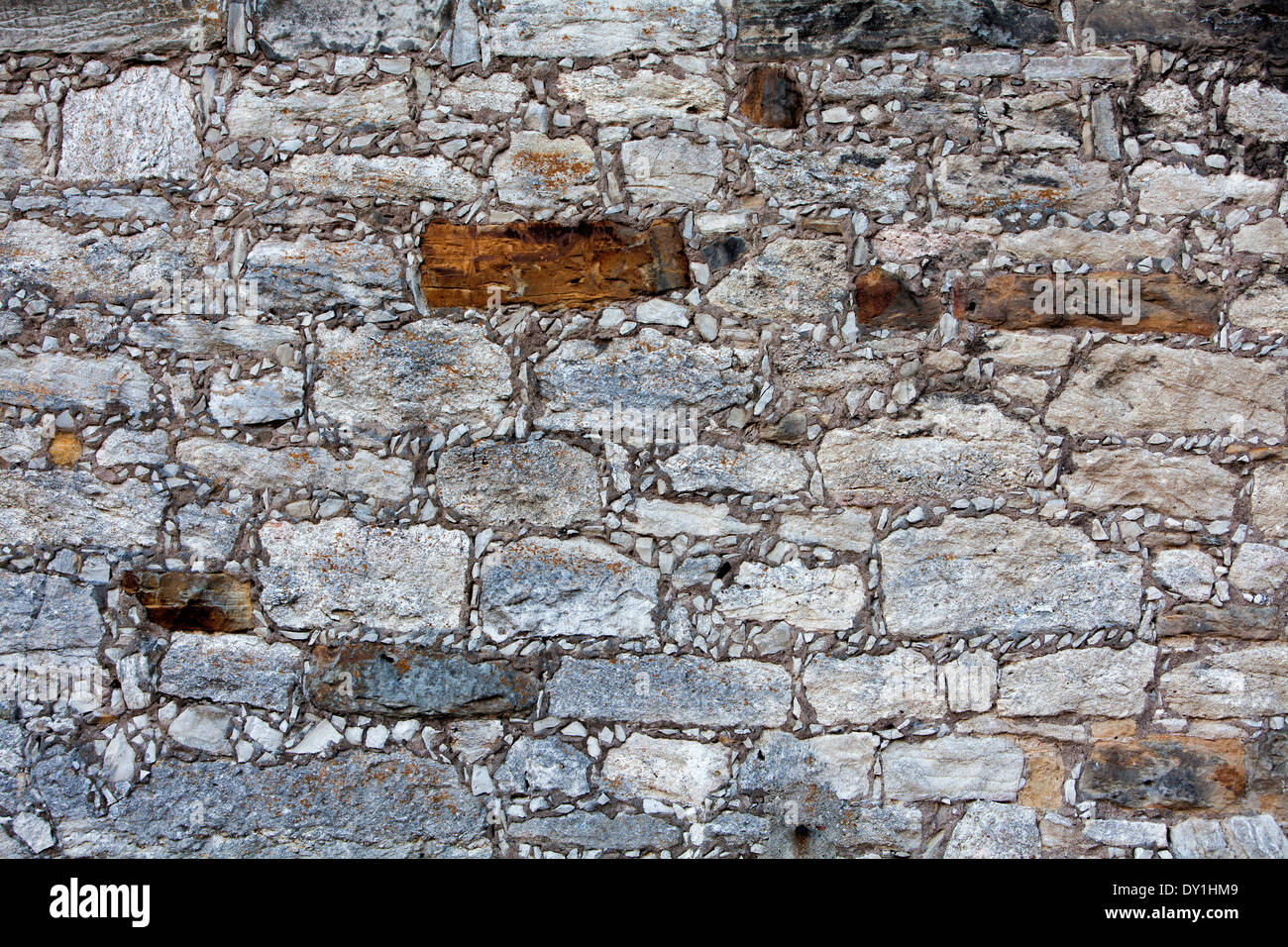 Old wall, detail, Germany, Detail - Stock Image