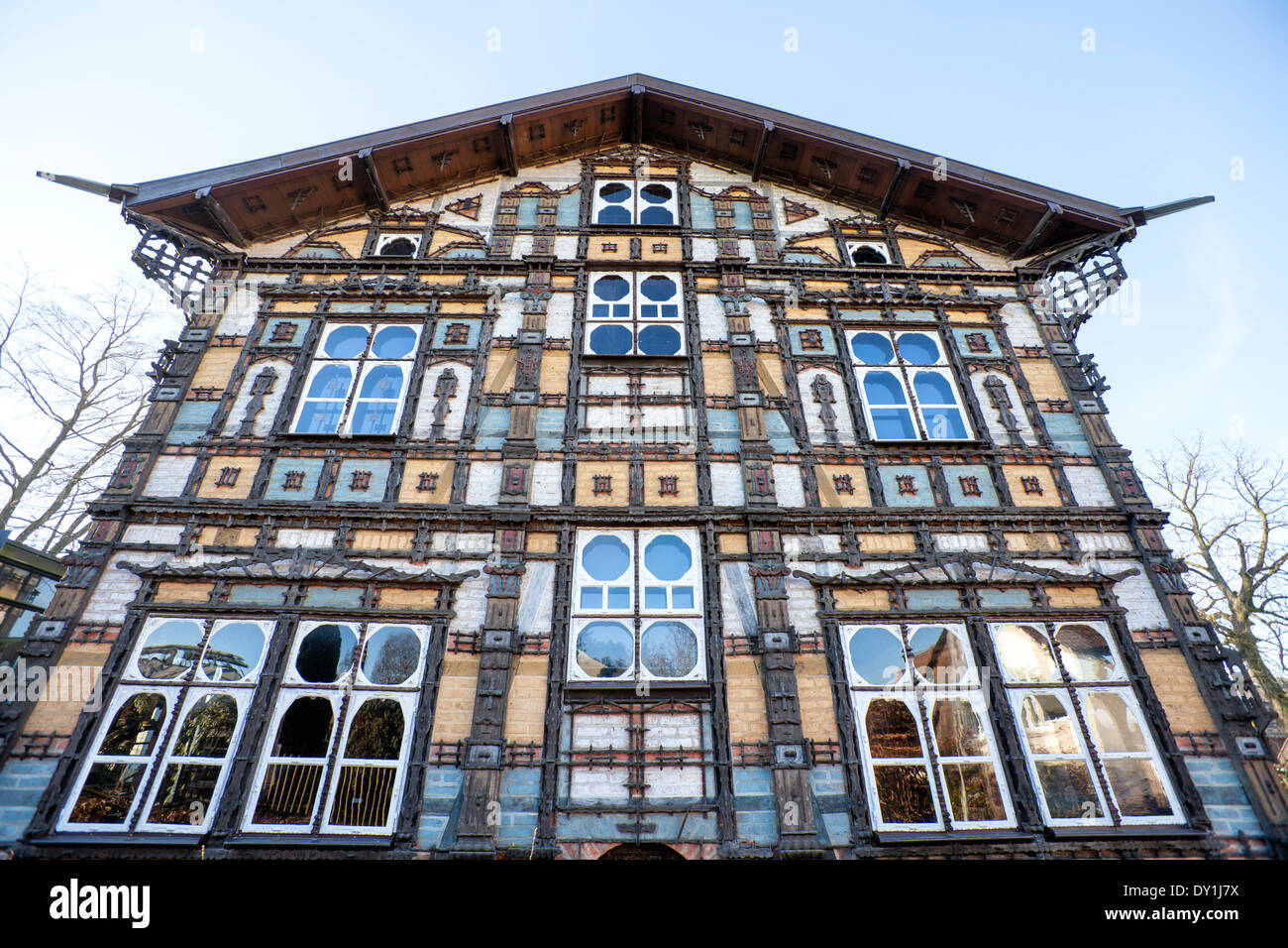 Museum Junkerhaus, Lemgo, North Rhine-Westphalia, Germany, Europe, - Stock Image