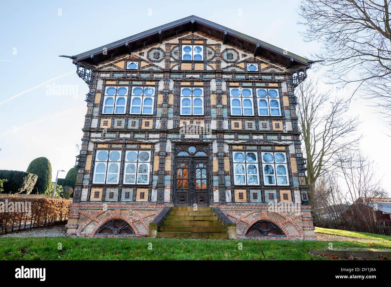 Museum Junkerhaus, Lemgo, North Rhine-Westphalia, Germany, Europe, Stock Photo
