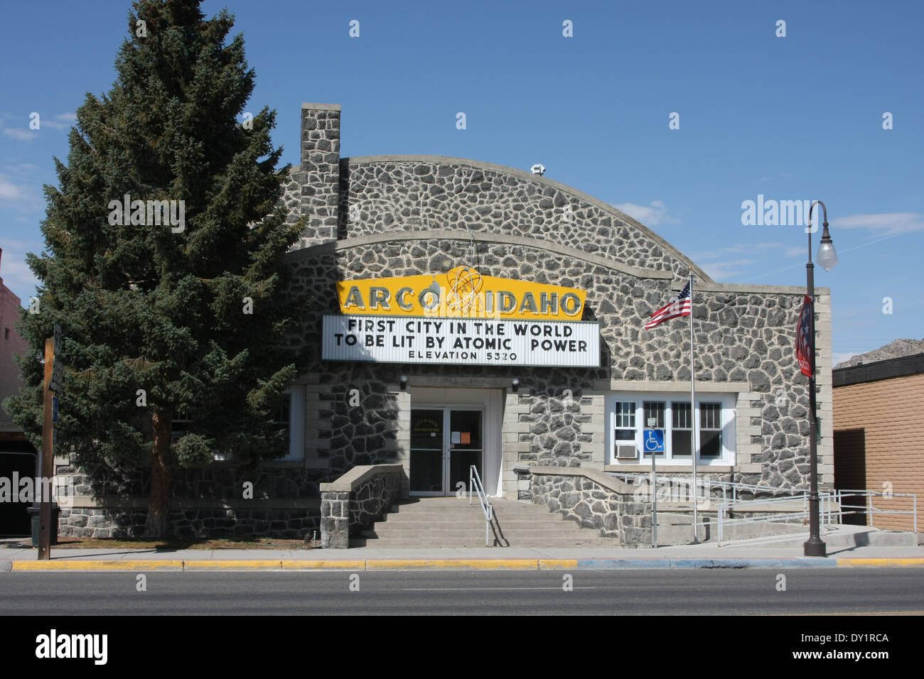 Arco, Idaho. The first city in the world to be powered by atomic power photo by Jen Lombardo - Stock Image