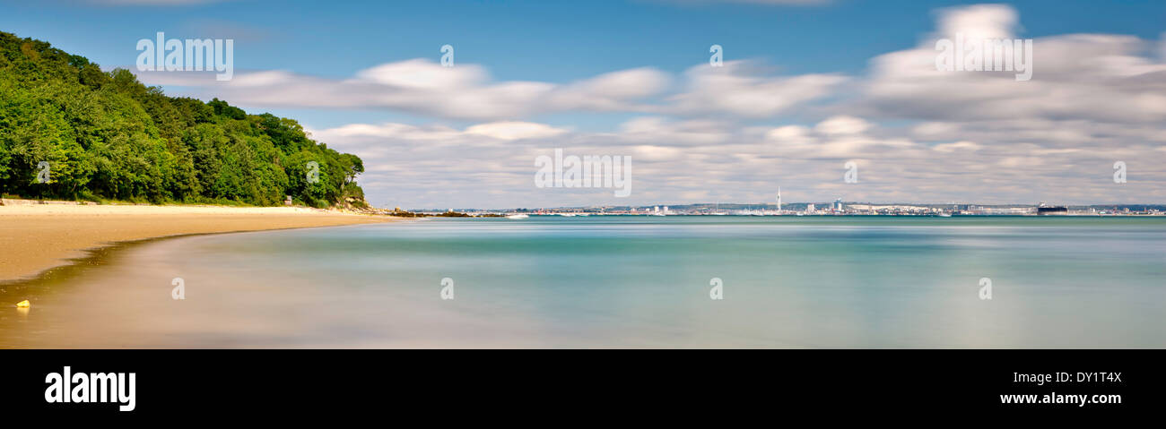 Priory Bay, Isle of Wight, tropical beach - Stock Image