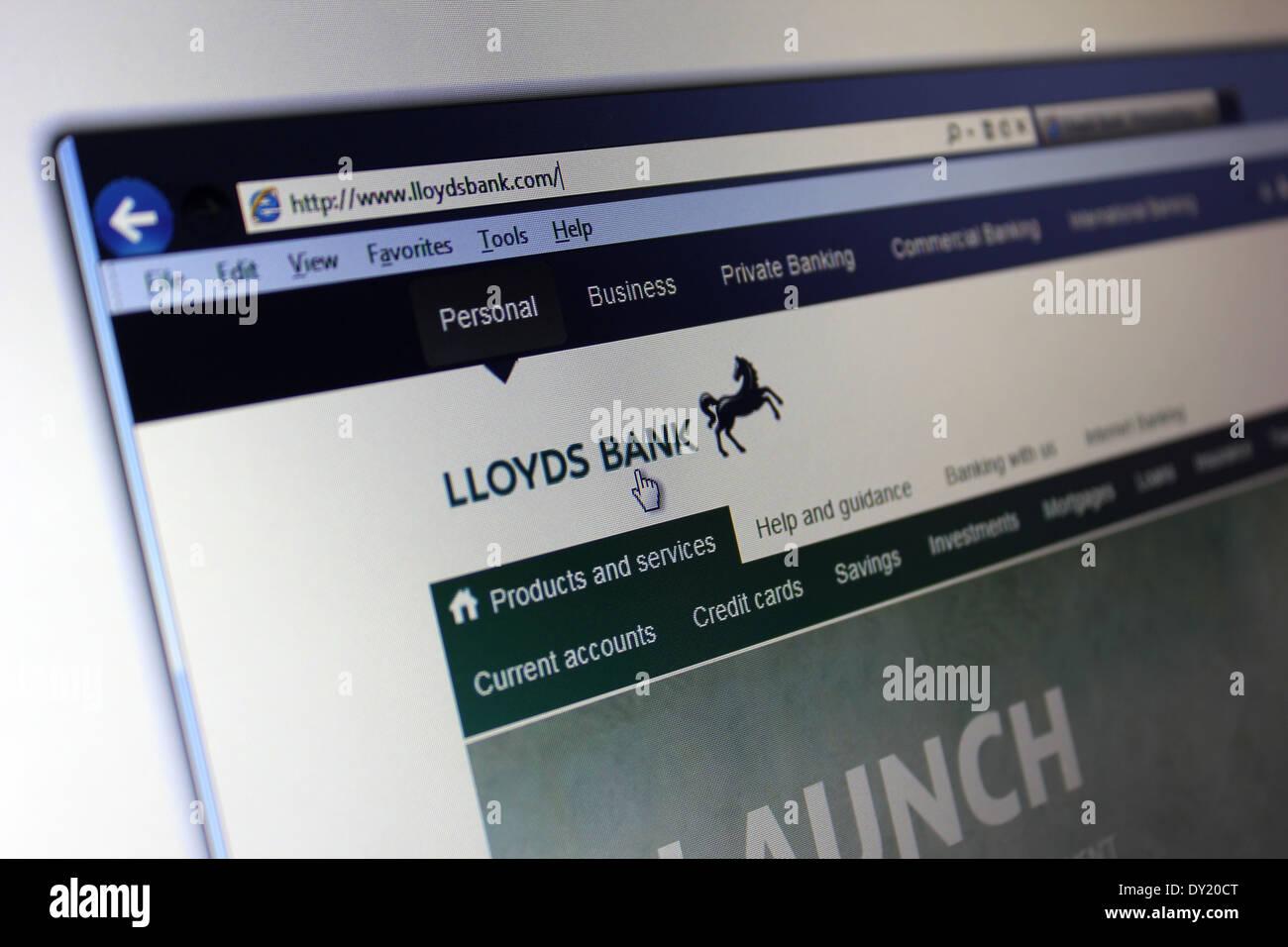 Lloyds Bank Website Stock Photos & Lloyds Bank Website Stock Images ...