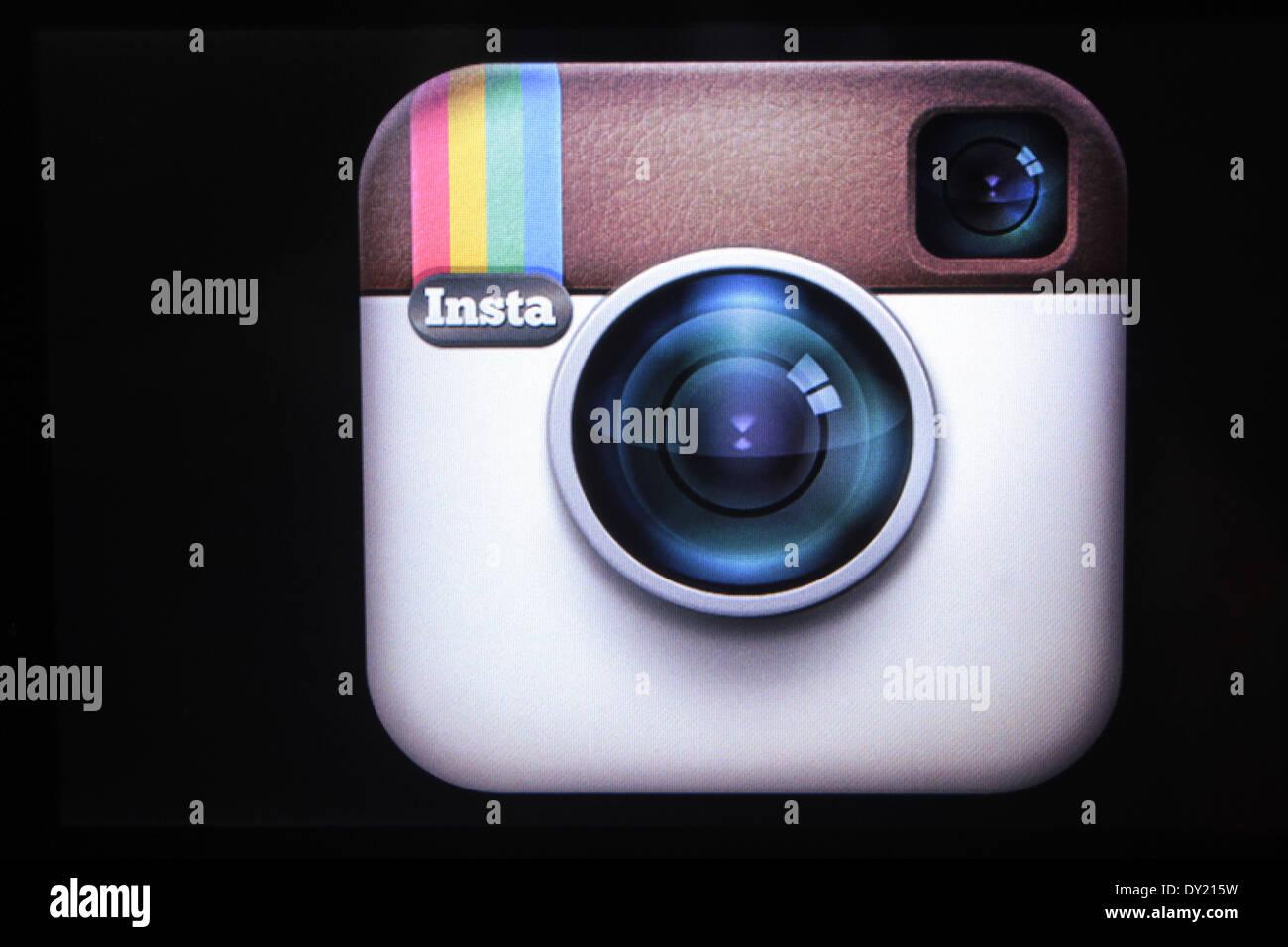 Instagram - Stock Image