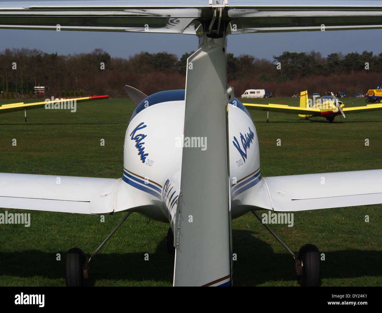 PH-MFT, HOAC DV-20-100 Katana at Hilversum Airport (ICAO EHHV), photo2 - Stock Image