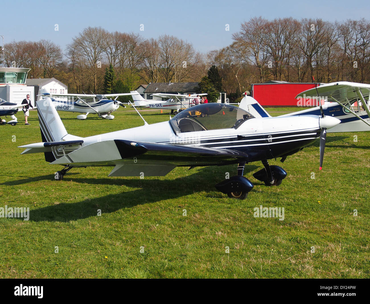 PH-4K6, Czech AC Wor, CH 601 XL at Hilversum Airport (ICAO EHHV), photo1 - Stock Image