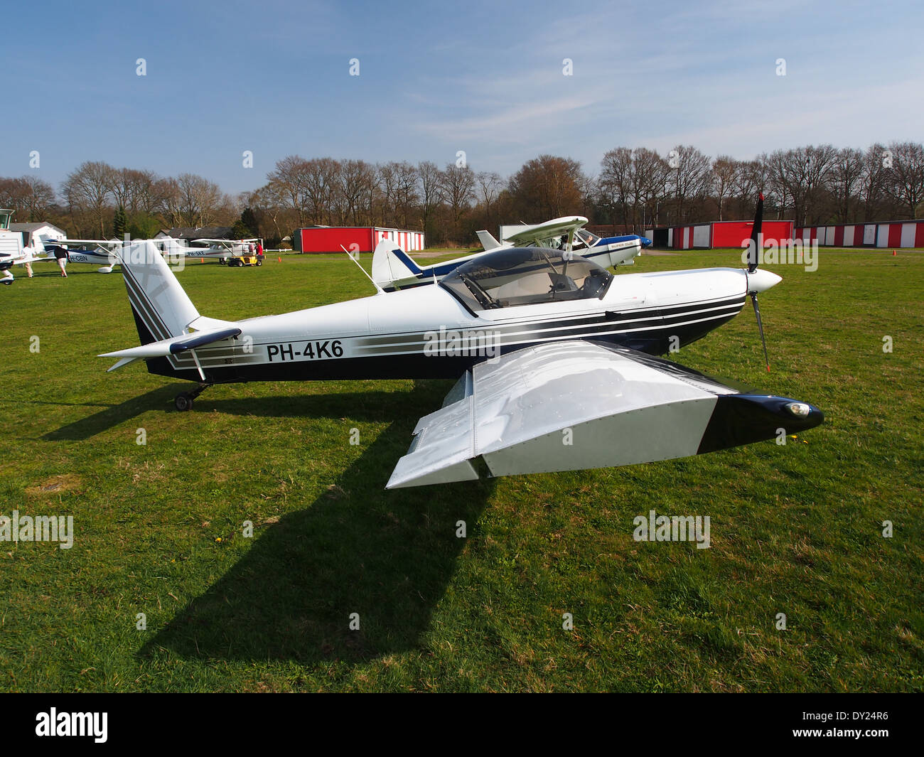 PH-4K6, Czech AC Wor, CH 601 XL at Hilversum Airport (ICAO EHHV), photo2 - Stock Image