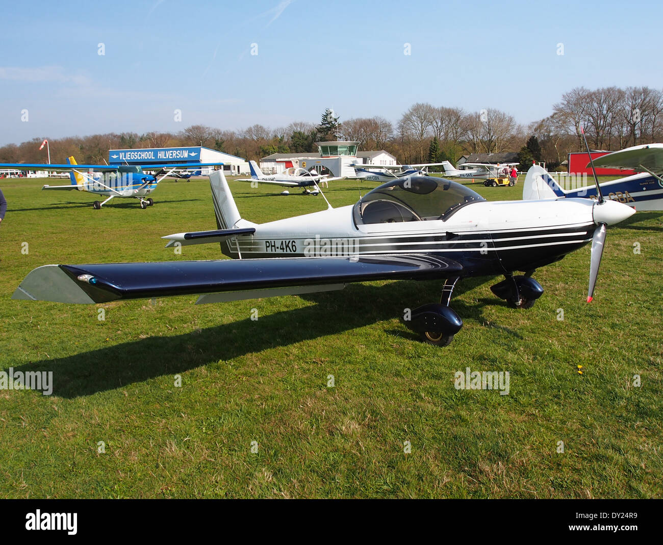 PH-4K6, Czech AC Wor, CH 601 XL at Hilversum Airport (ICAO EHHV), photo3 - Stock Image