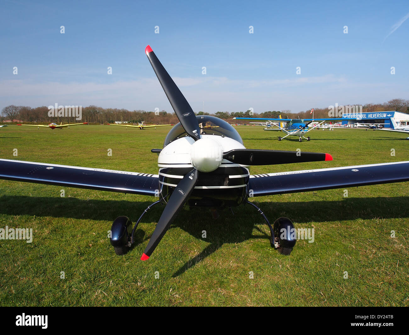 PH-4K6, Czech AC Wor, CH 601 XL at Hilversum Airport (ICAO EHHV), photo4 - Stock Image