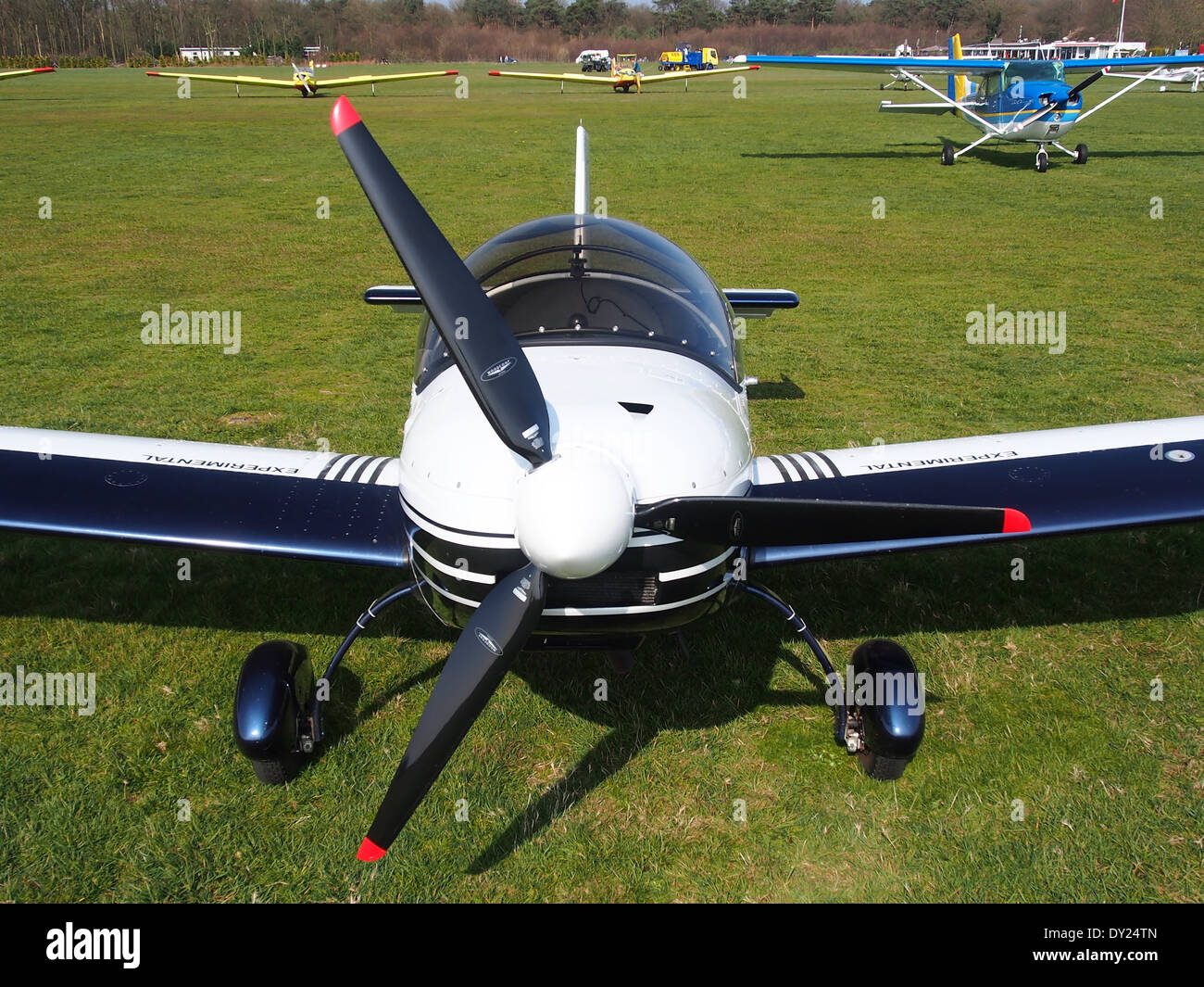 PH-4K6, Czech AC Wor, CH 601 XL at Hilversum Airport (ICAO EHHV), photo5 - Stock Image