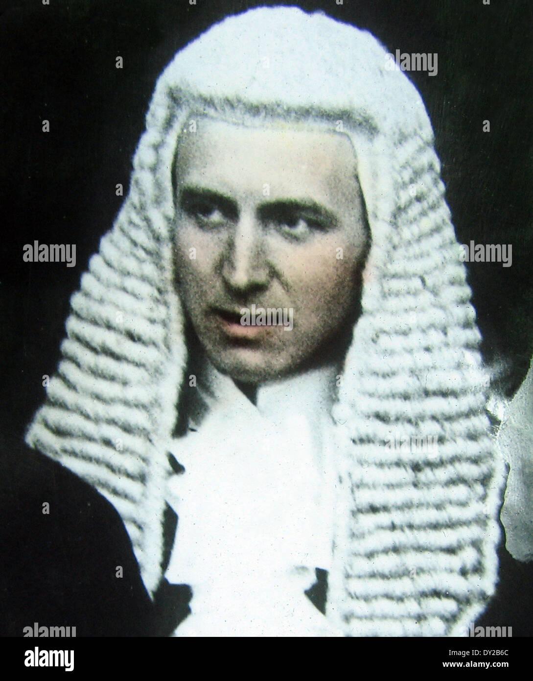 Sir John Simon Member of the British Coalition War Cabinet during WW1 - Stock Image