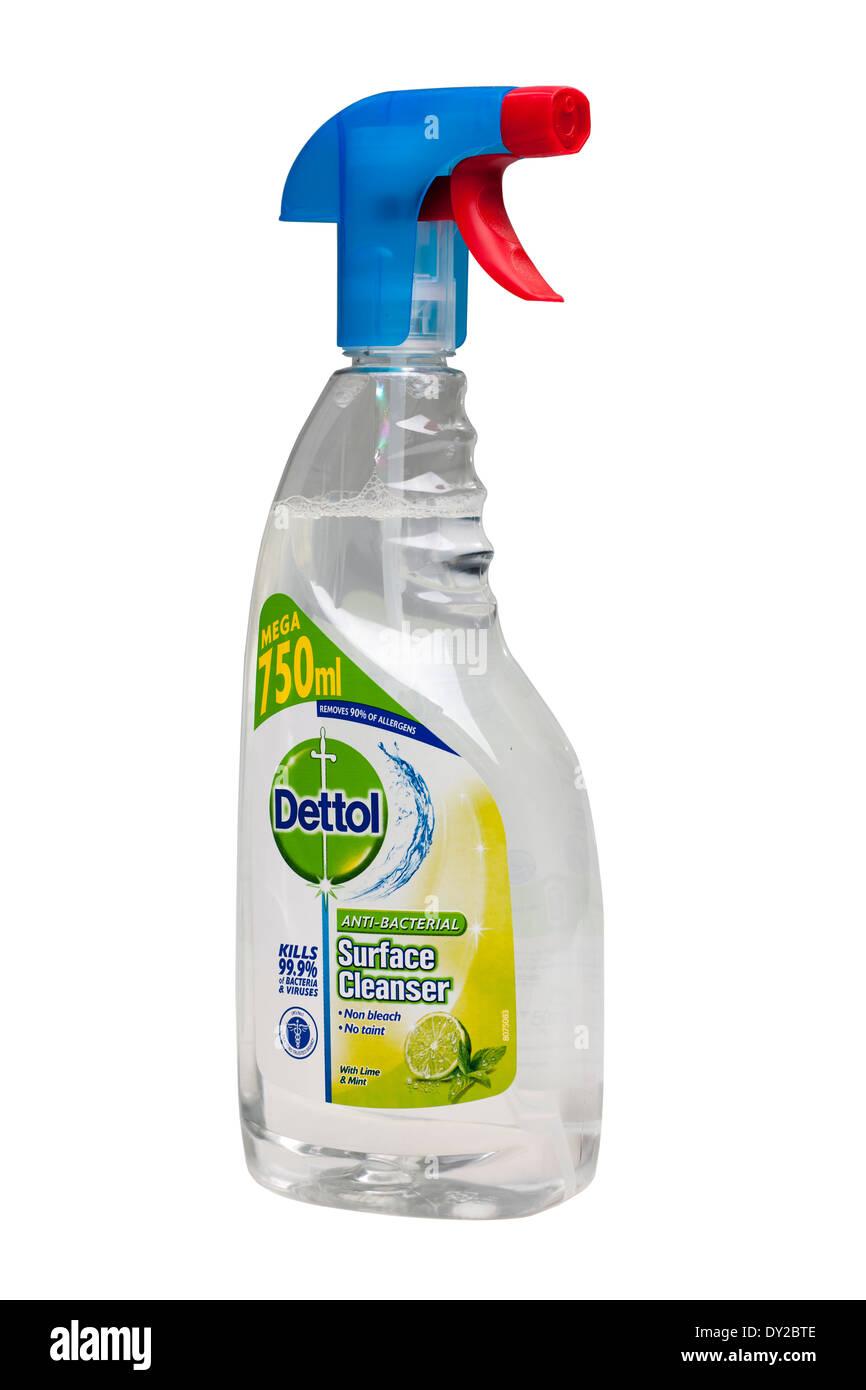 Mega 750 ml spray bottle of Dettol surface cleaner - Stock Image