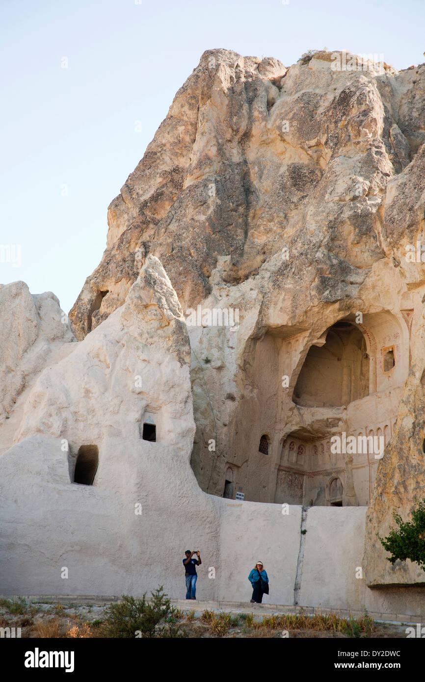 open-air museum of goreme, cappadocia, anatolia, turkey, asia - Stock Image