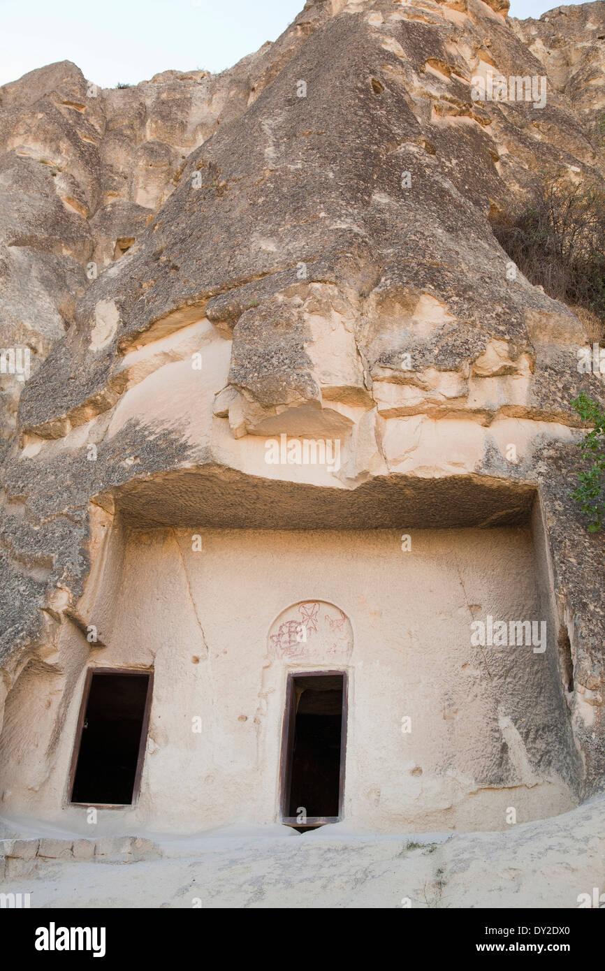 open-air museum of goreme, cappadocia, anatolia, turkey, asia Stock Photo