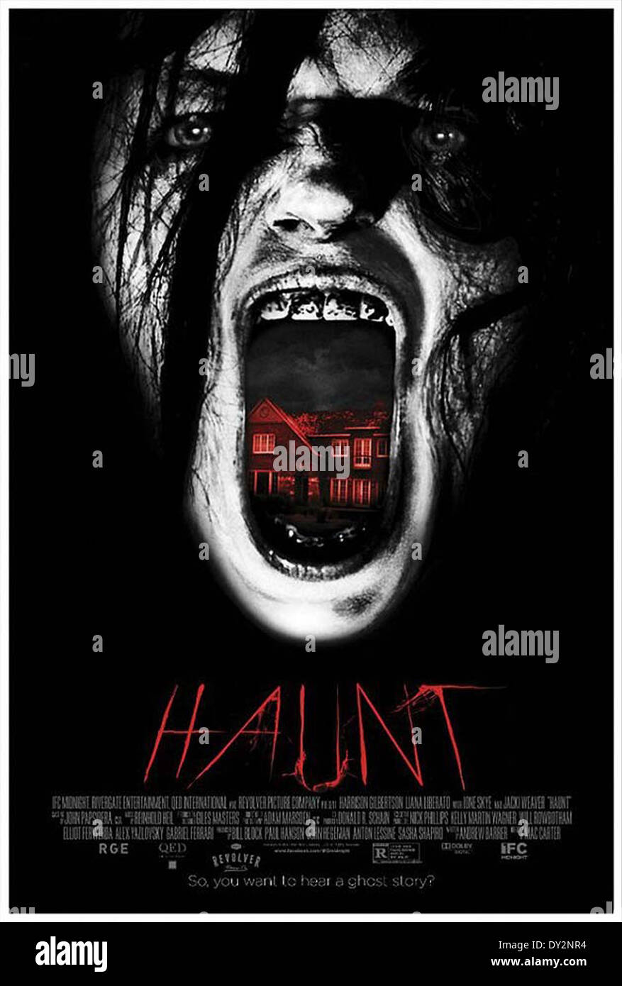 HAUNT (2013) MAC CARTER (DIR) MOVIESTORE COLLECTION LTD - Stock Image