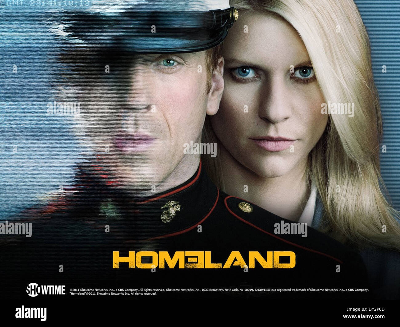 HOMELAND (TV) (2011) DAMIAN LEWIS, CLAIRE DANES MOVIESTORE COLLECTION LTD - Stock Image