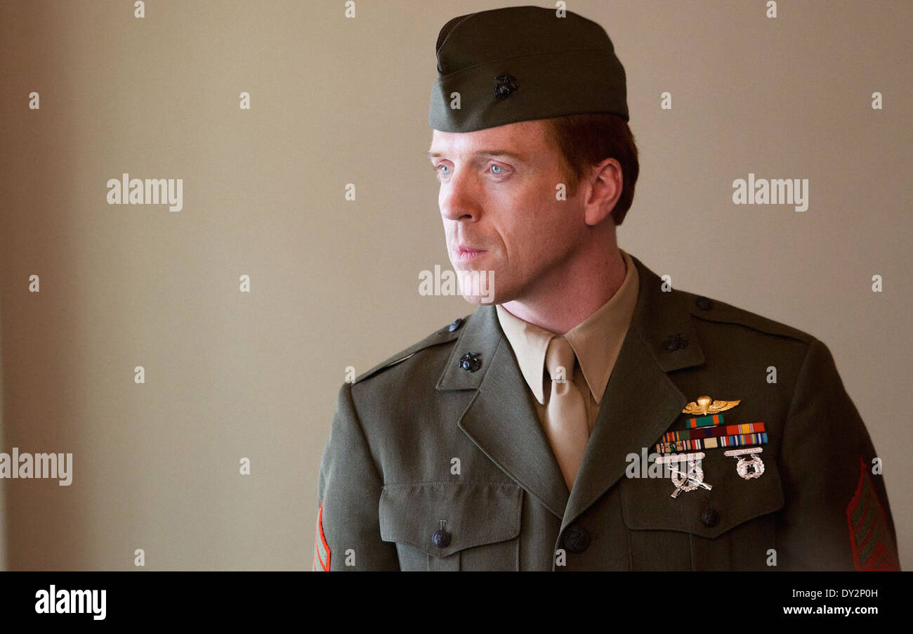HOMELAND (TV) (2011) DAMIAN LEWIS MOVIESTORE COLLECTION LTD - Stock Image