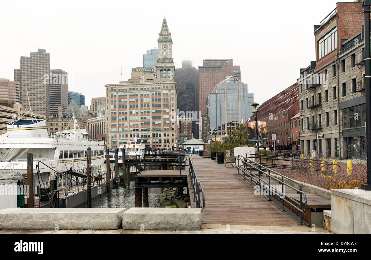 Boston - Stock Image