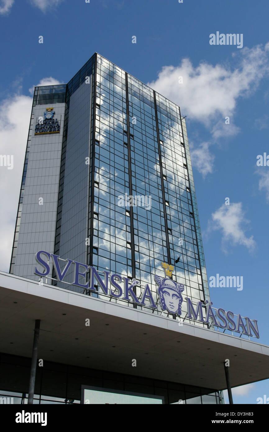 Swedish Exhibition & Congress Centre ( Svenska Massan ) in Gothenburg, Sweden - Stock Image
