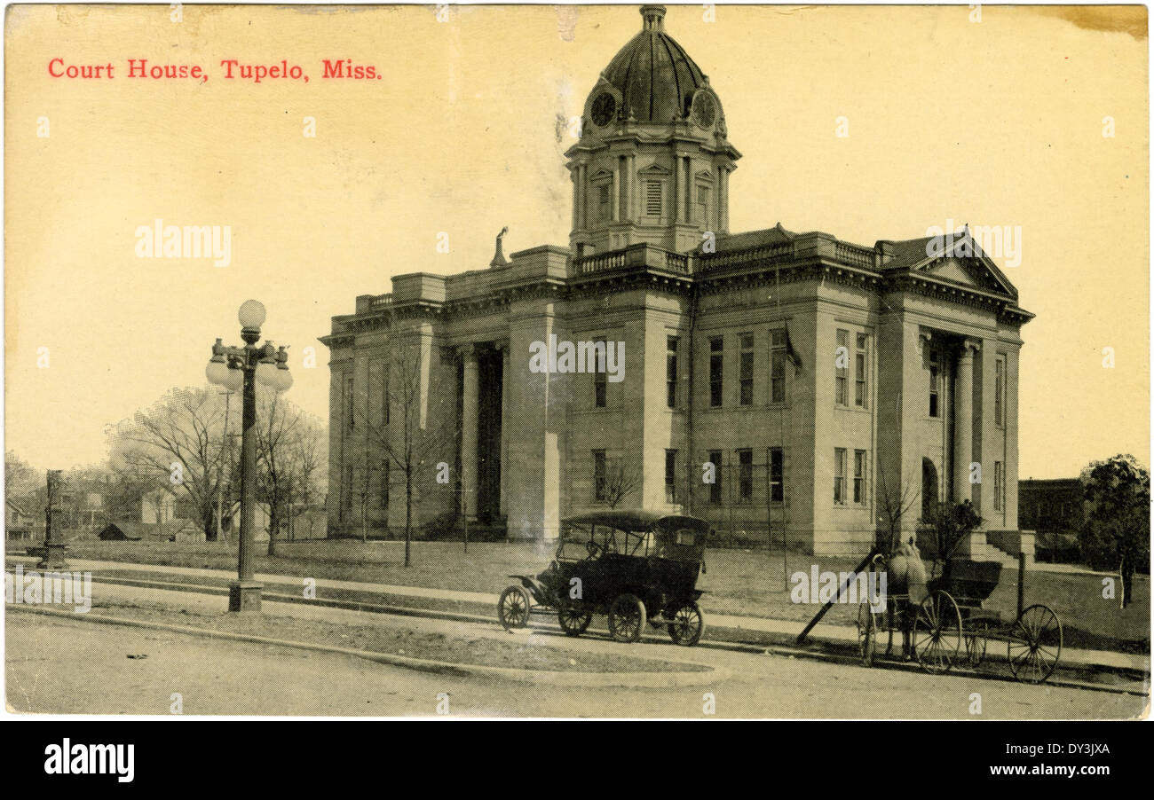 Court house, Tupelo, Miss. - Stock Image