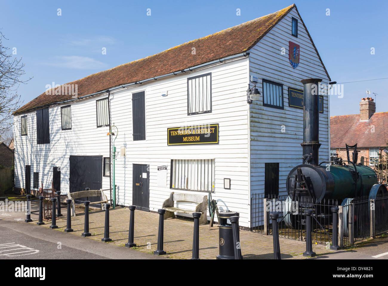 Tenterden and District Museum - Stock Image