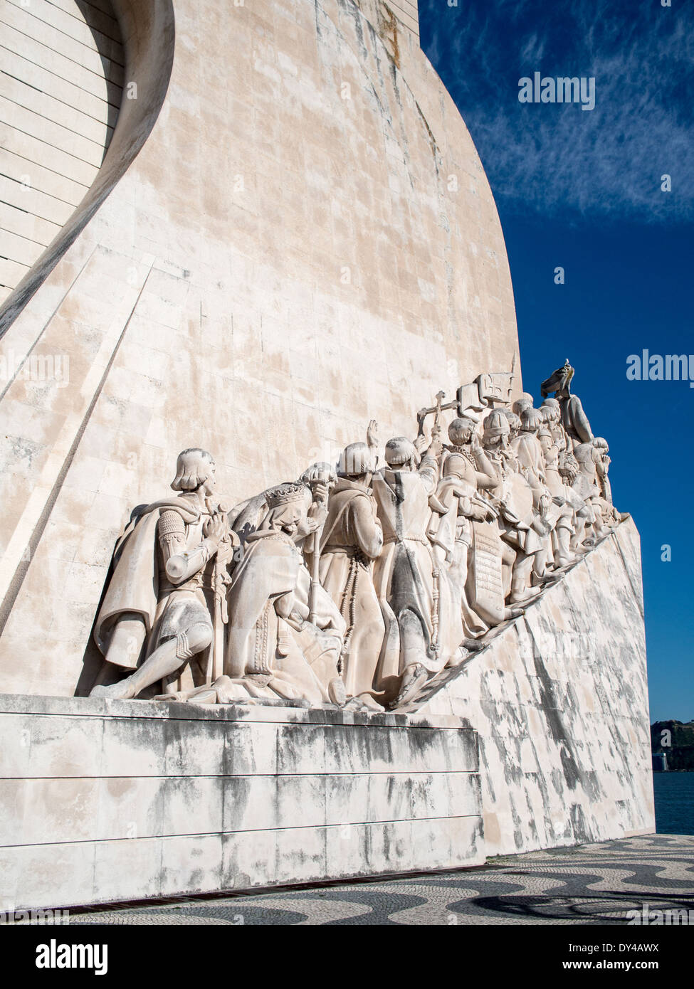 Discoveries Monument, Belem , Portugal - Stock Image