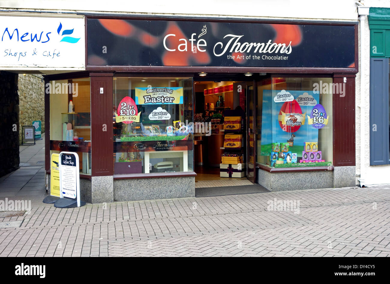 A Thorntons store - Stock Image