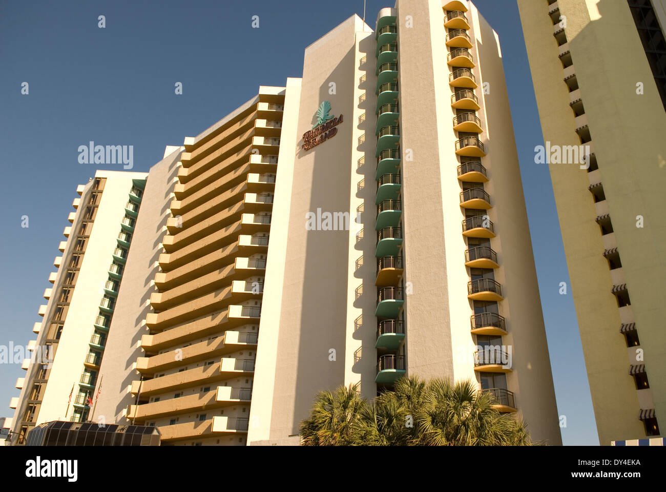 Patricia Grand Hotel Myrtle Beach Sc Usa Stock Photo Alamy