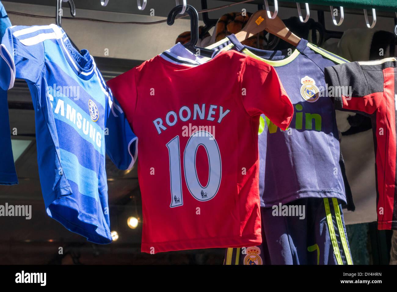 fa5bae55e28 Football Jersey Shirt Stock Photos & Football Jersey Shirt Stock ...