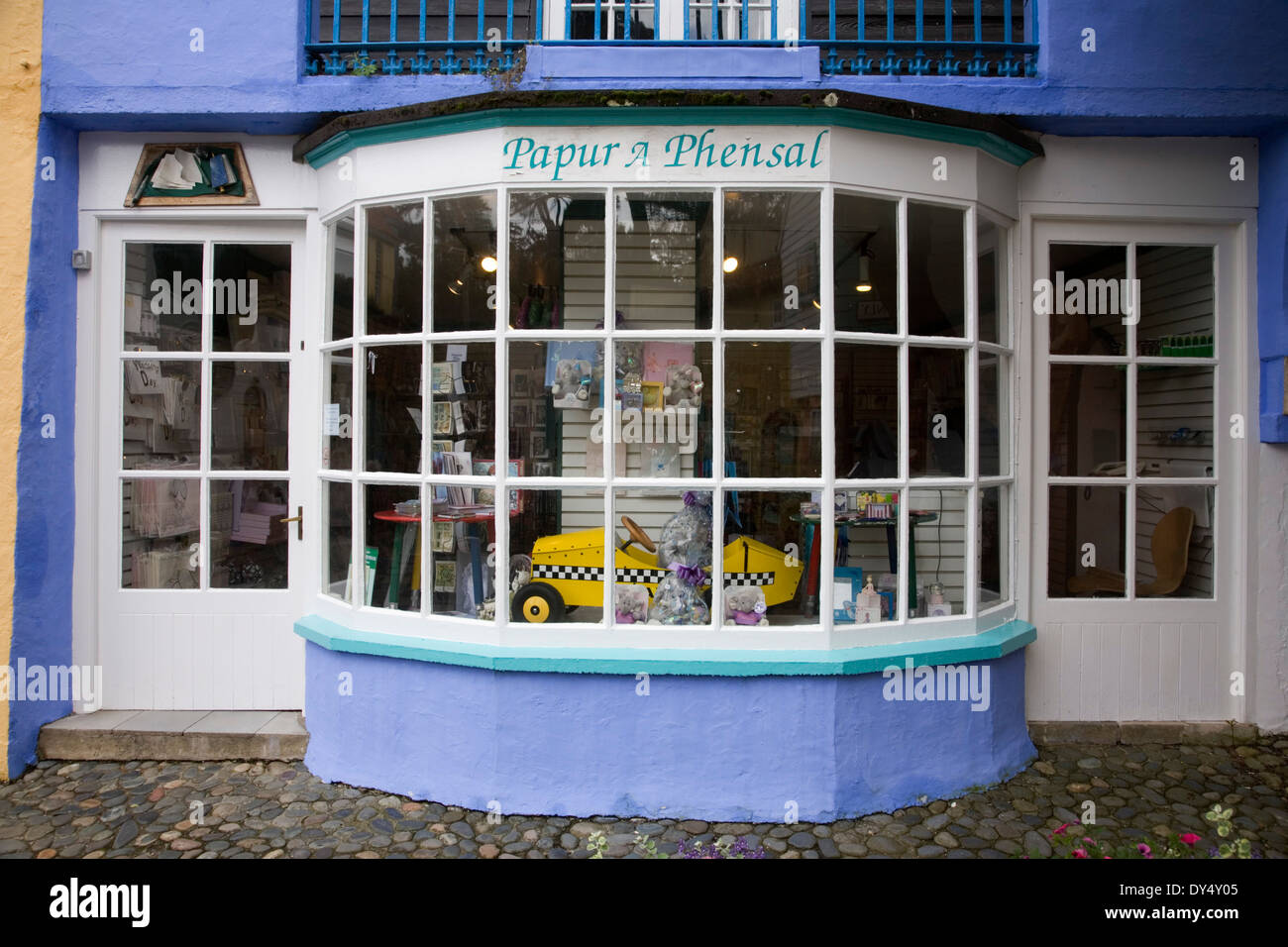 Greeting card shop stock photos greeting card shop stock images greeting card shop portmeirion wales united kingdom stock image m4hsunfo Image collections
