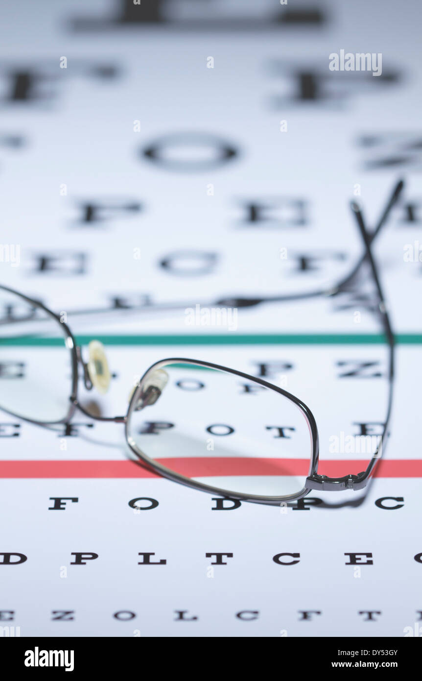 Snellen Eye Chart Stock Photos Snellen Eye Chart Stock Images Alamy