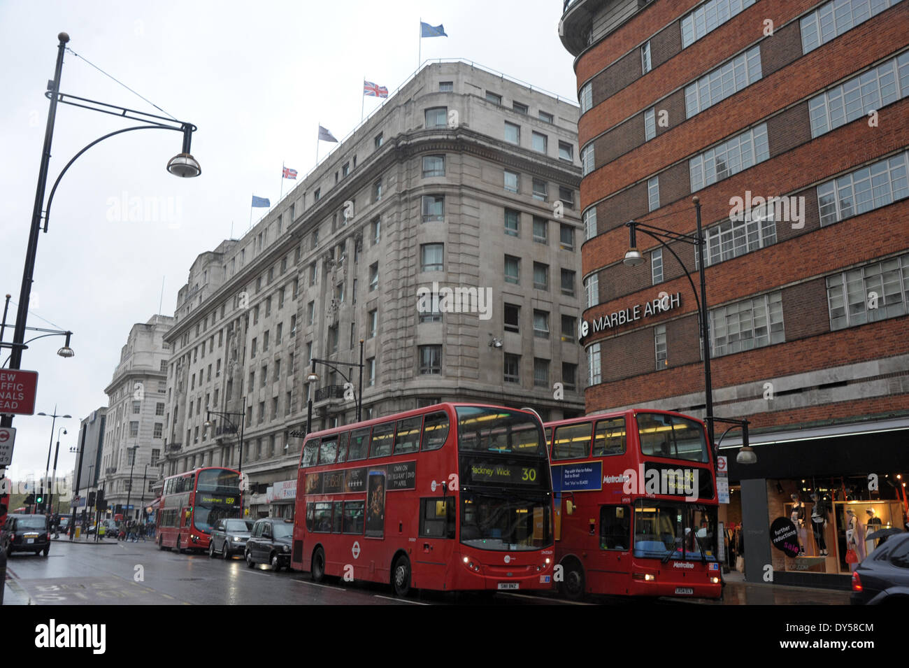Cumberland Hotel On Oxford Street London