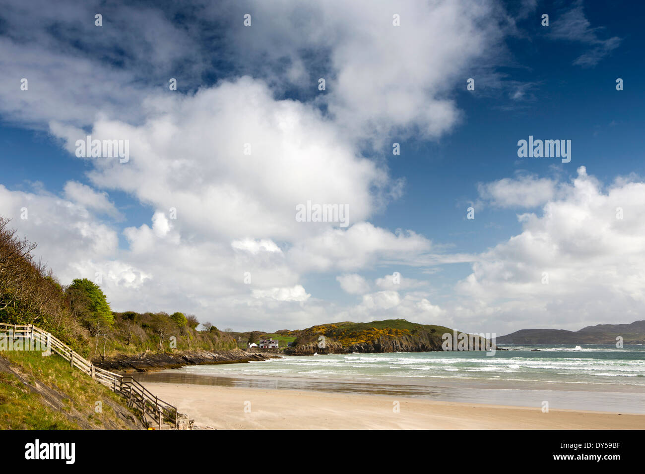 Ireland, Co Donegal, Dunfanaghy, Marble Hill Beach - Stock Image