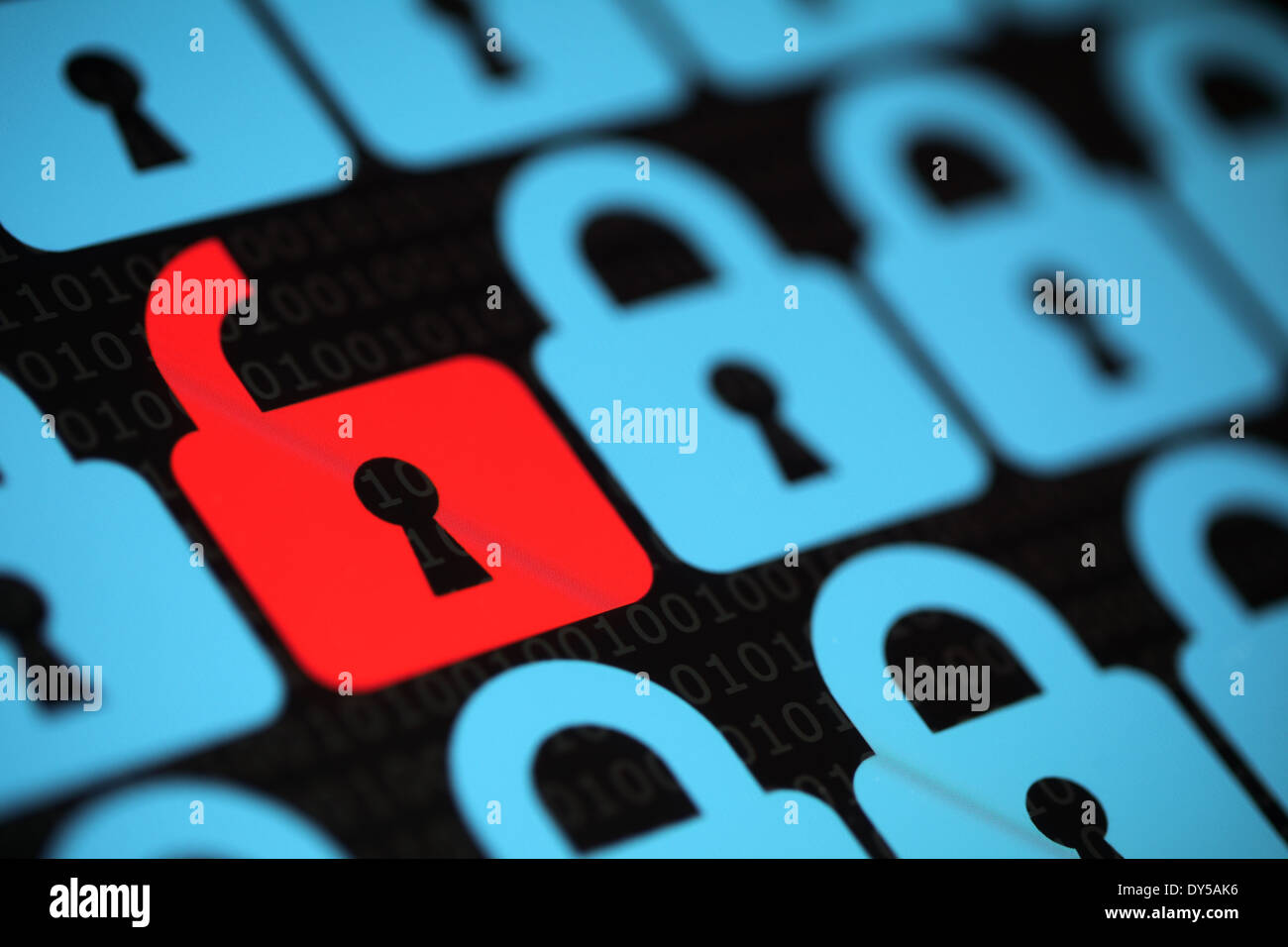 Internet security - Stock Image
