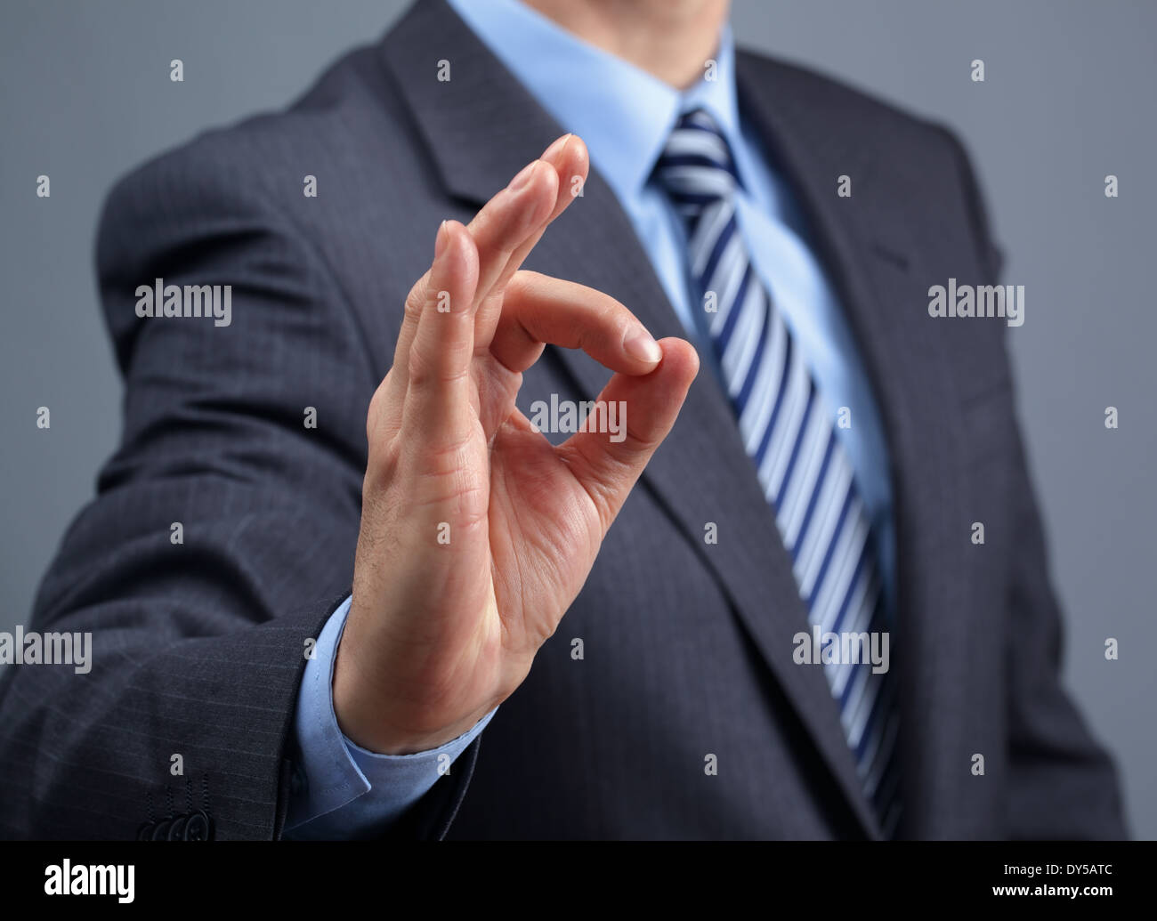 Okay sign - Stock Image