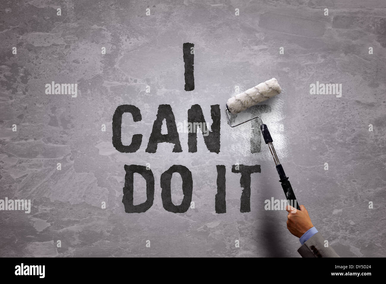I can do it - Stock Image