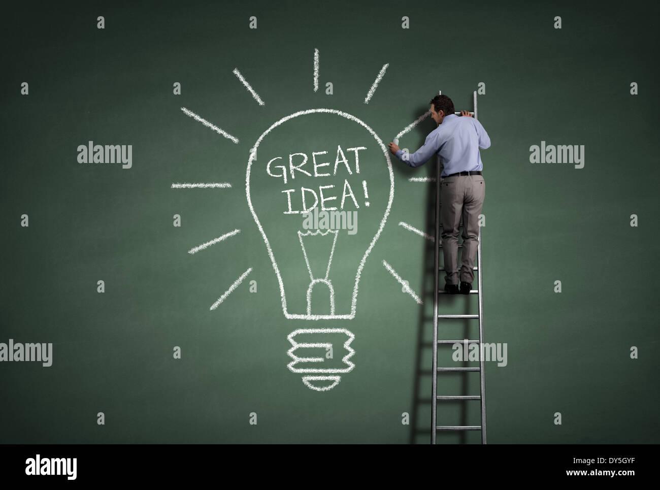 Great idea - Stock Image