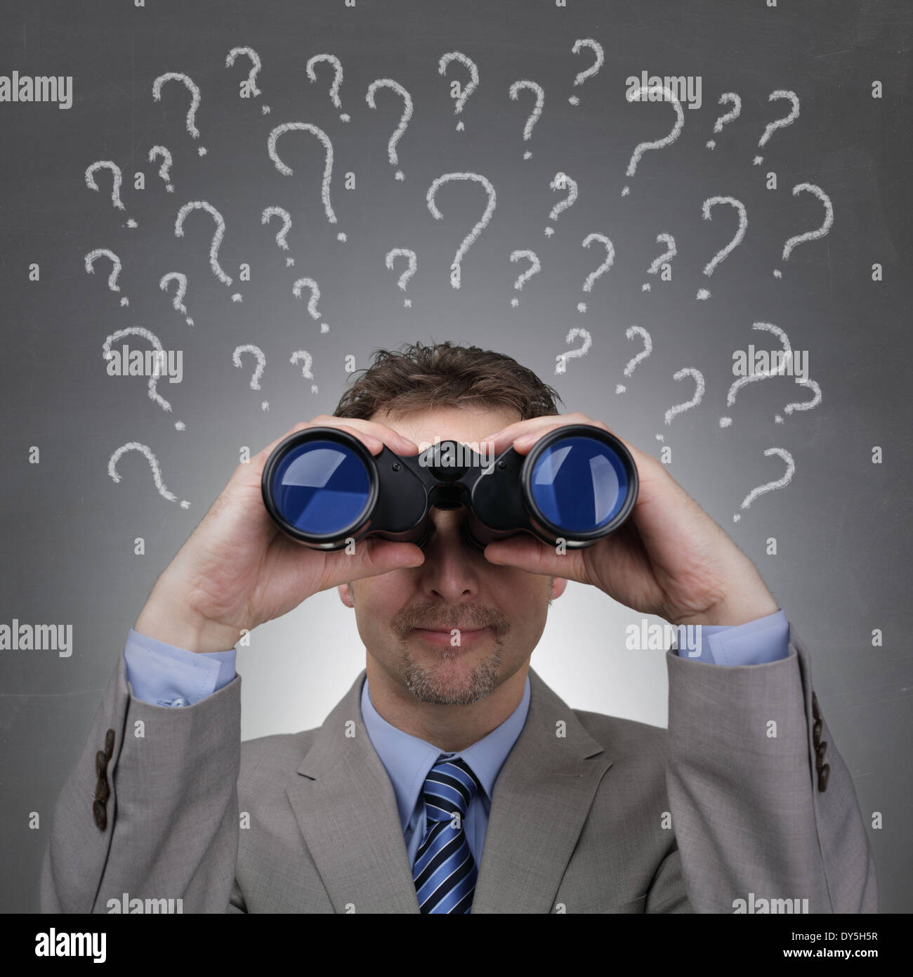 Business questions - Stock Image