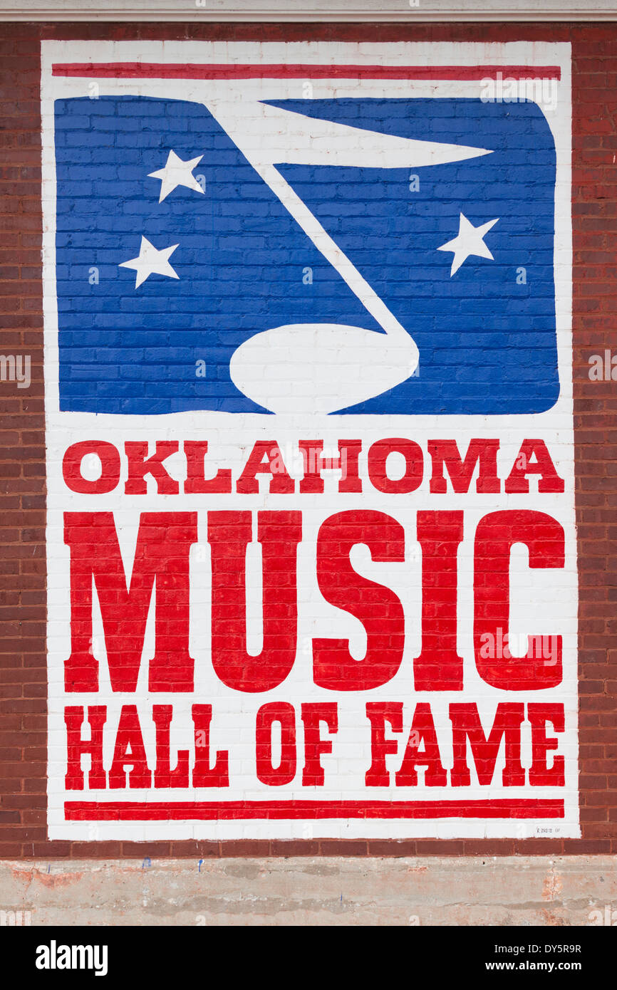 USA, Oklahoma, Muskogee, Oklahoma Music Hall of Fame Stock Photo