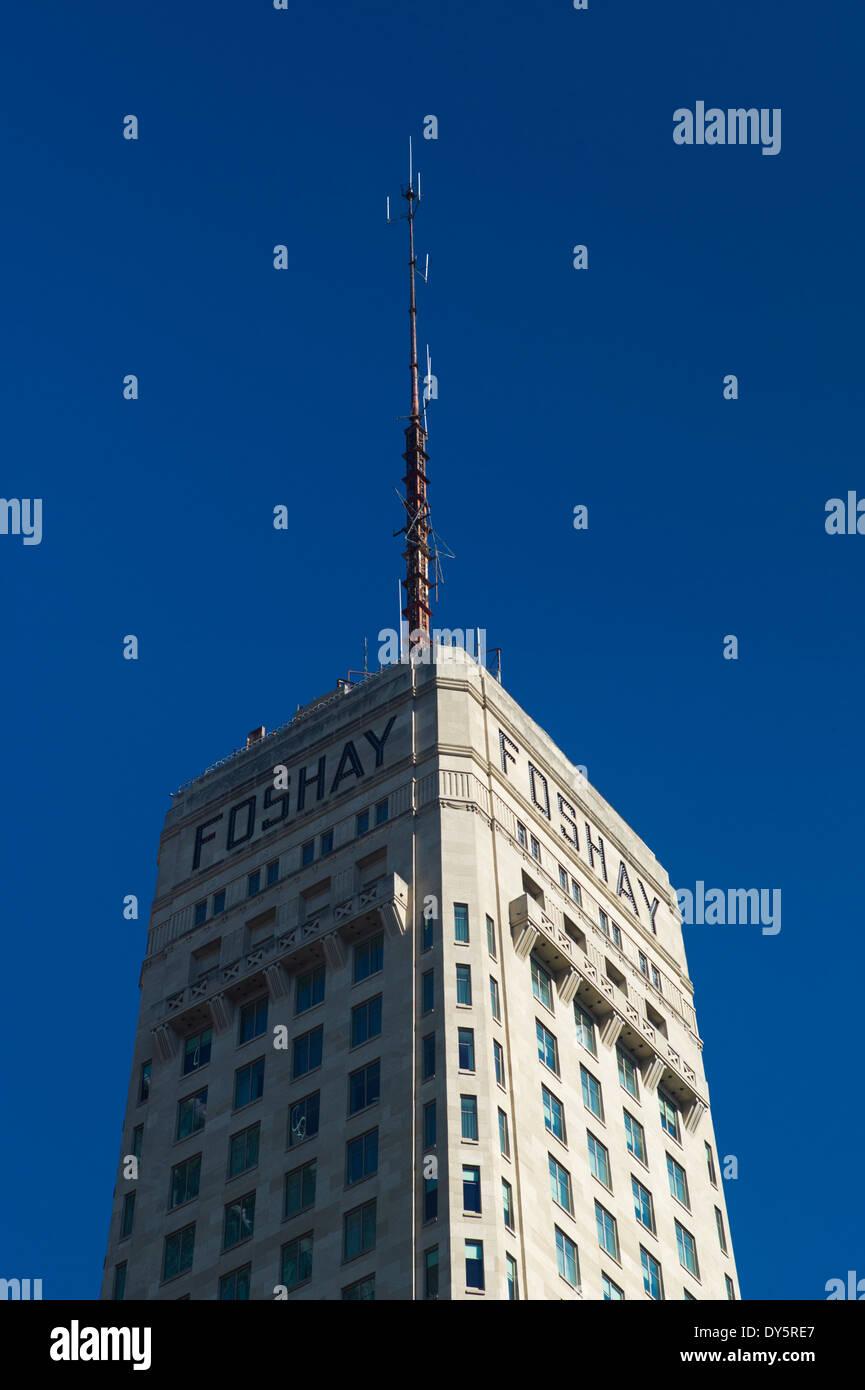 USA, Minnesota, Minneapolis, Foshay Tower - Stock Image