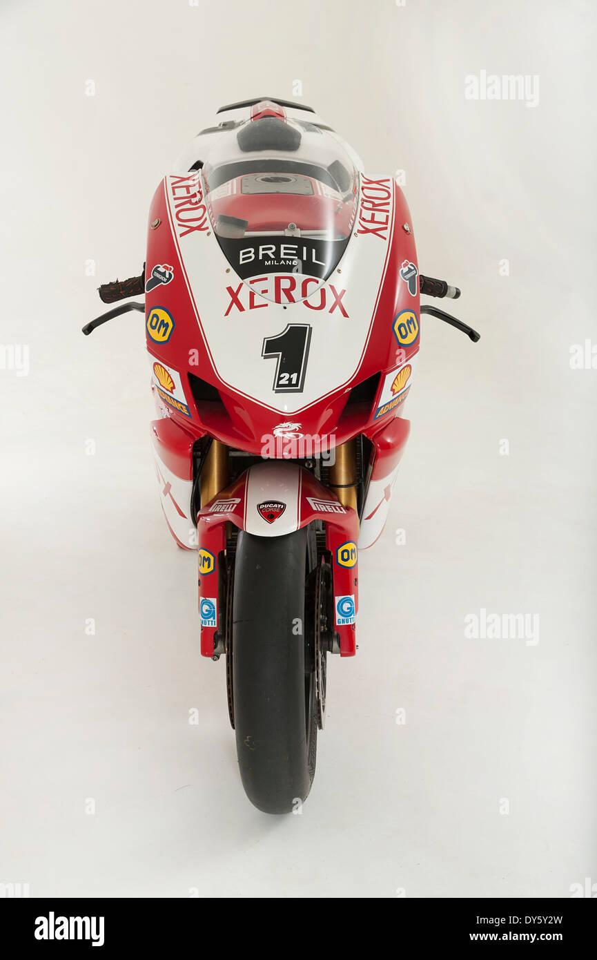 2006 Ducati 999 Xerox, Troy Bayliss - Stock Image