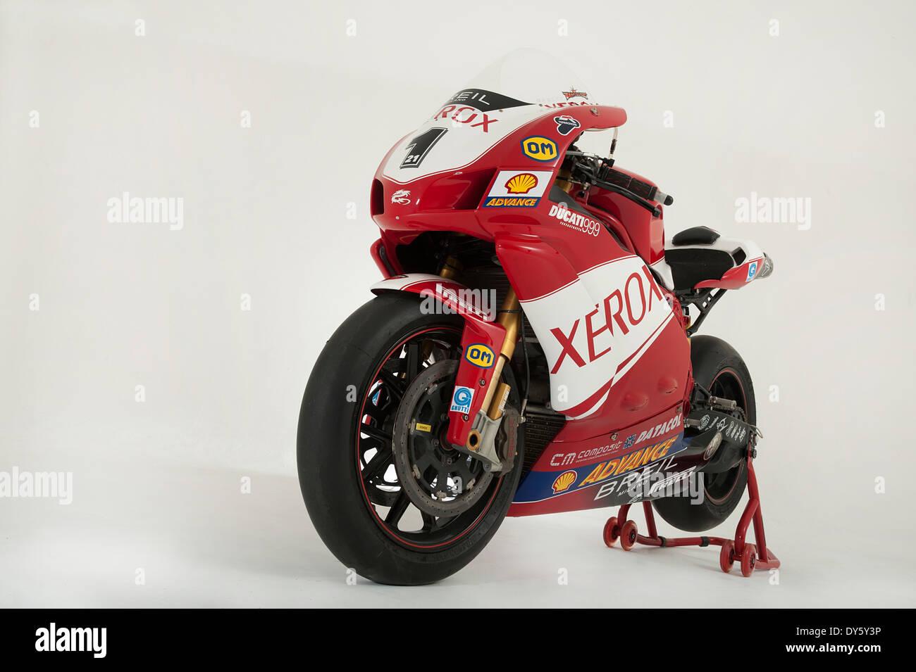 2006 Ducati 999 Xerox, Troy Bayliss Stock Photo: 68357850 - Alamy