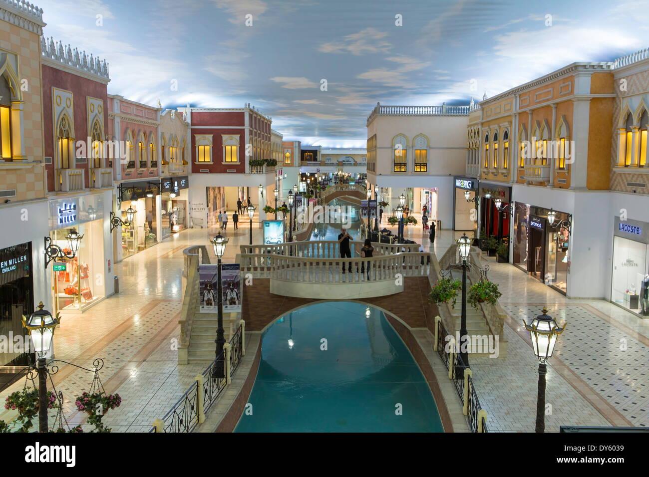 interior villaggio mall doha qatar middle east stock photo 68358621 alamy. Black Bedroom Furniture Sets. Home Design Ideas