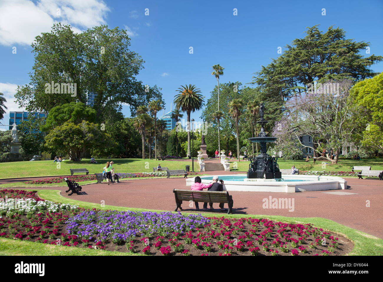 Albert Park, Auckland, North Island, New Zealand, Pacific - Stock Image