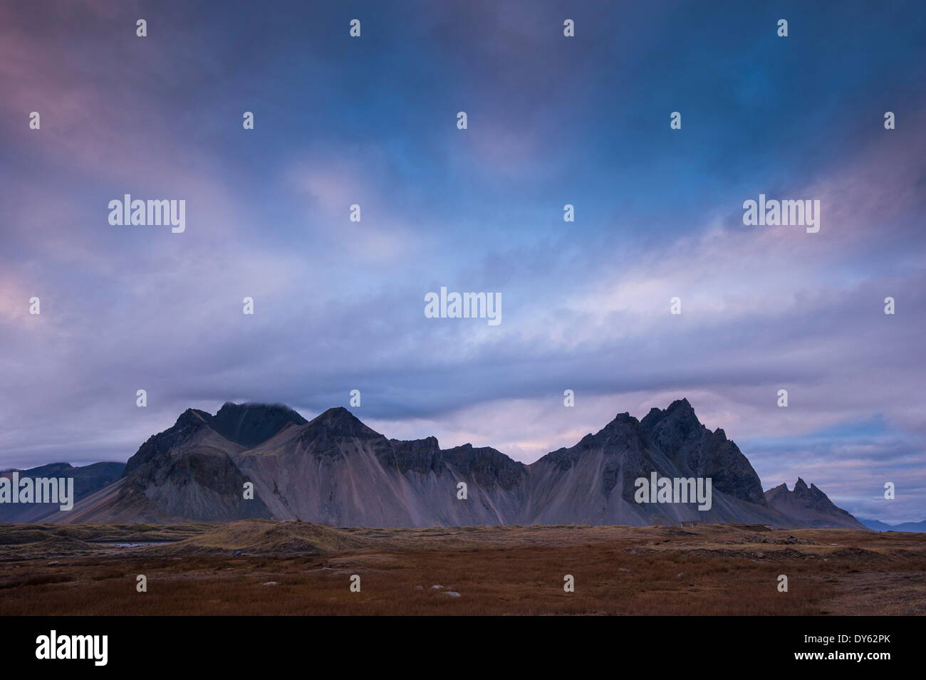 Near Hofn, Iceland, Polar Regions Stock Photo