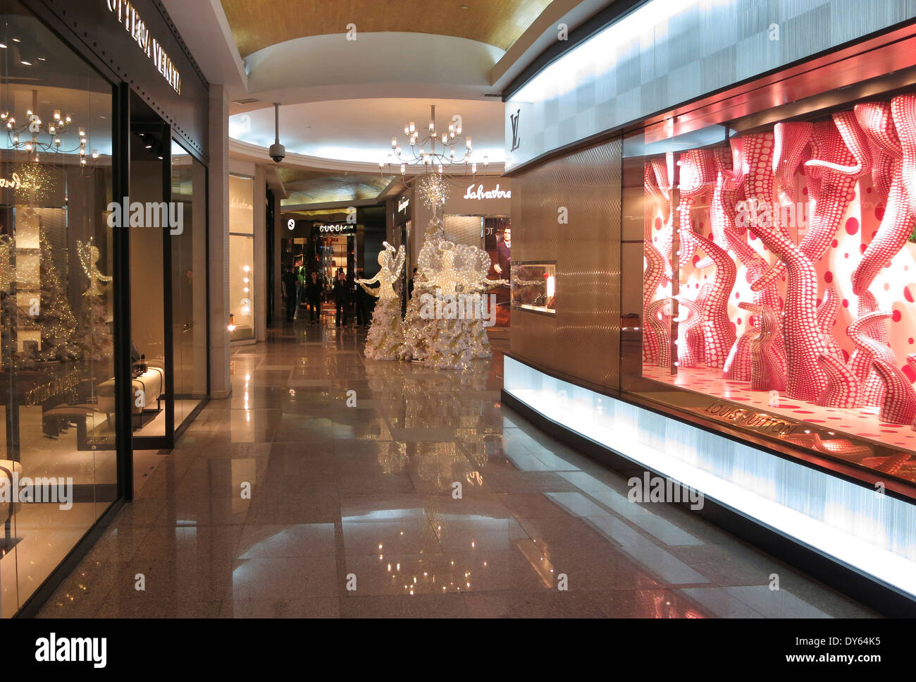 Greenbelt 5 shopping Mall in Makati City, Manila, Luzon Island, Philippines - Stock Image